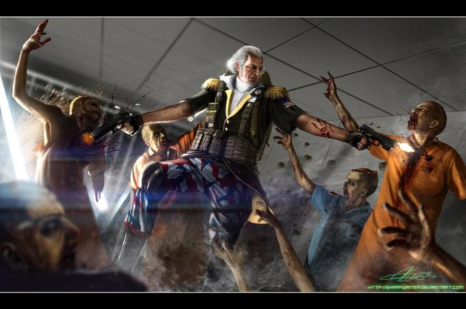 George Washington: Zombie Hunter