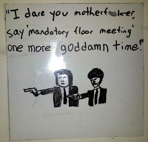 Mandatory Floor Meeting