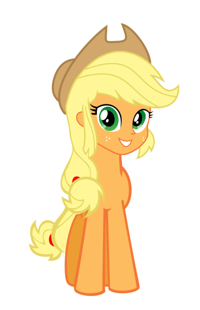 Applejack Human Head