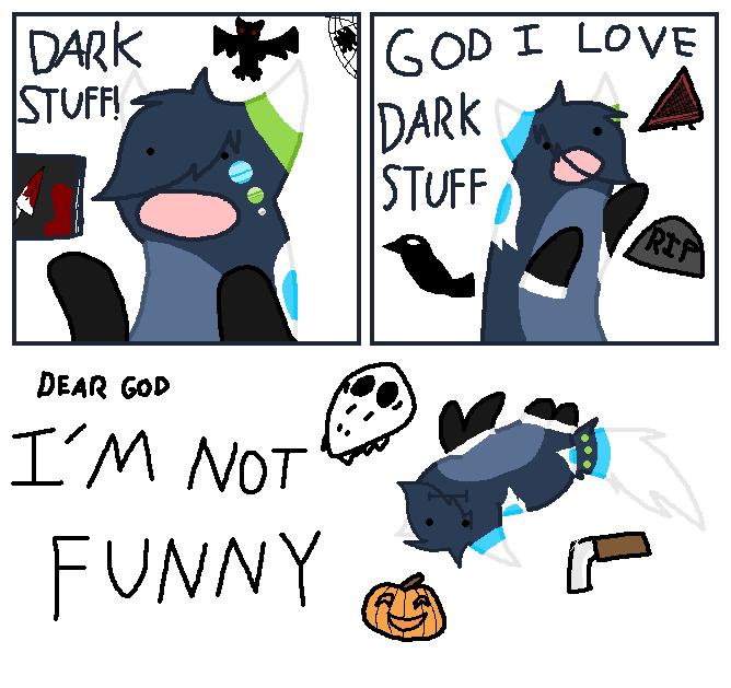 Dark Stuff by *GlassFeline