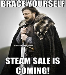 Steam sale is here