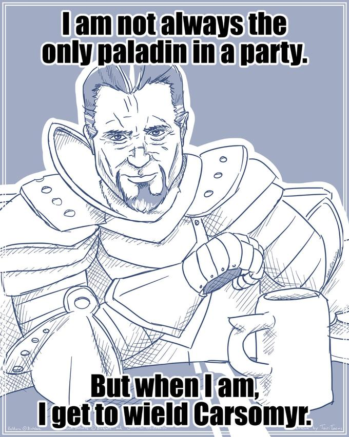 The most interesting Paladin in the World - Carsomyr