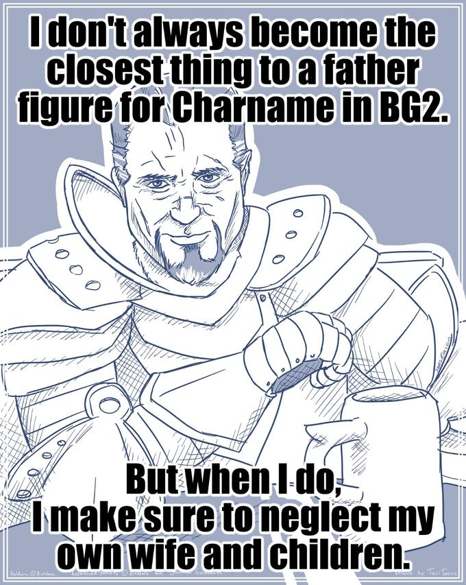 The most interesting Paladin in the World - Father Figure
