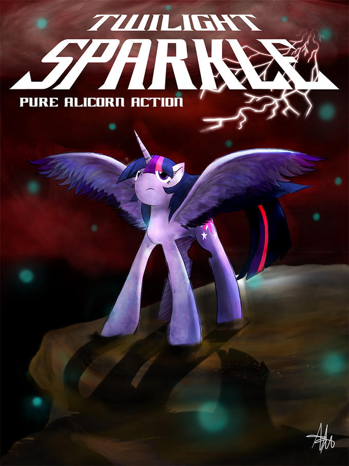 Twilight Sparkle - Pure Alicorn Action!