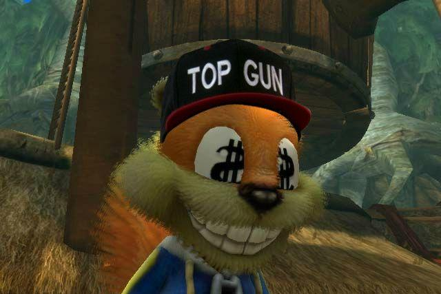 """Conker """"Top Gun Hat"""""""