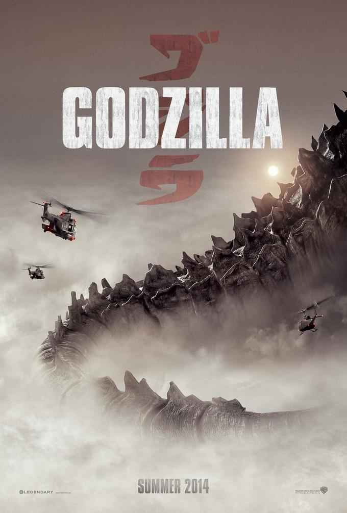 Godzilla (2014) - Official Poster