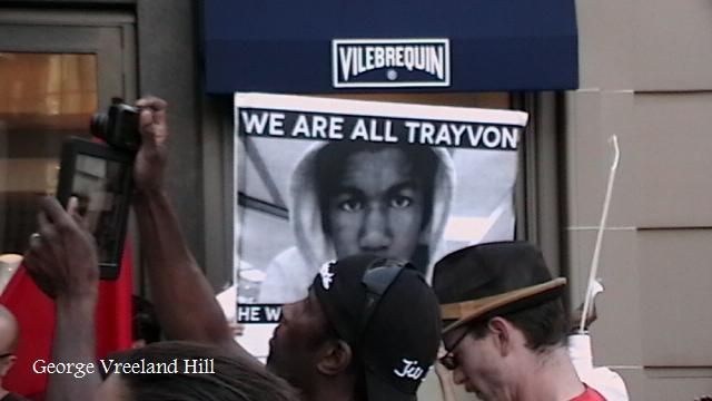 Trayvon Martin Protest In Beverly Hills