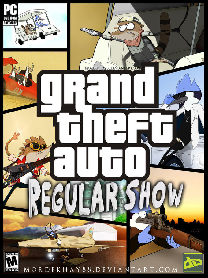 GTA: Regular Show