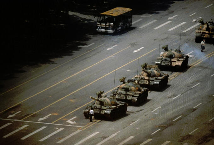 Meanwhile at Tiananmen Square...