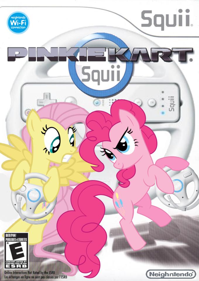 Pinkie Kart Squii