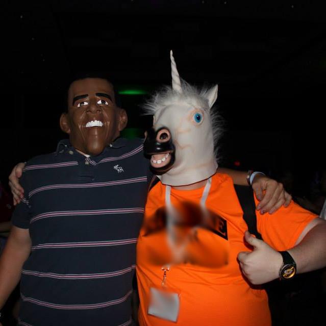 Unicorn and Obama