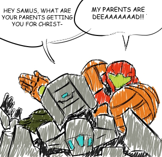 Samus is Batman