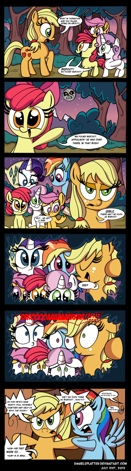 Applejack Vs. Camping
