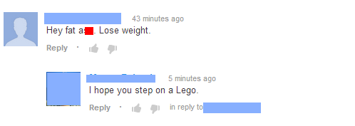 I hope you step on a LEGO YouTube