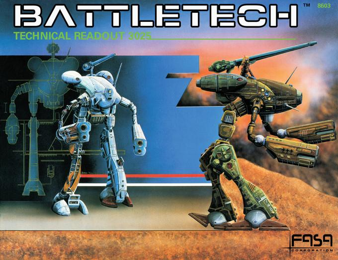 Technical Readout: 3025 (1986) Cover
