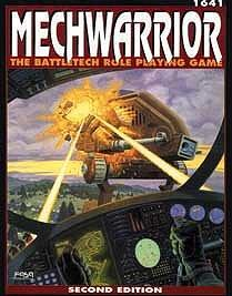MechWarrior: The BattleTech Role Playing Game 2nd ed. cover