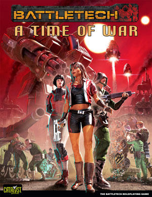 A Time of War cover