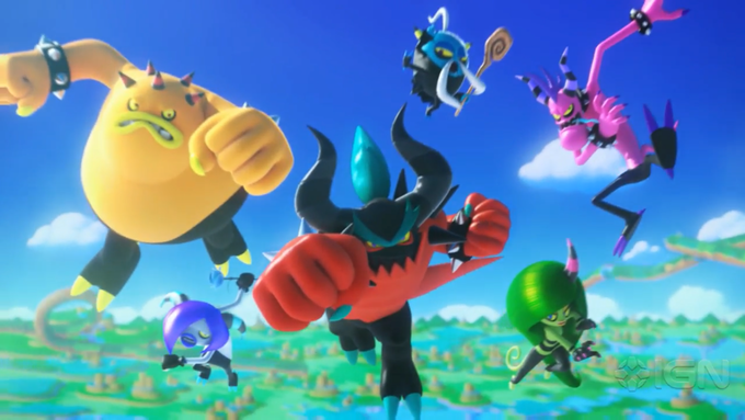 The Deadly Six (Sonic Lost World)