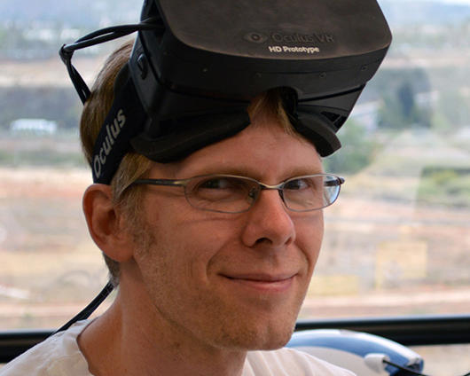 John Carmack Joins Oculus as CTO