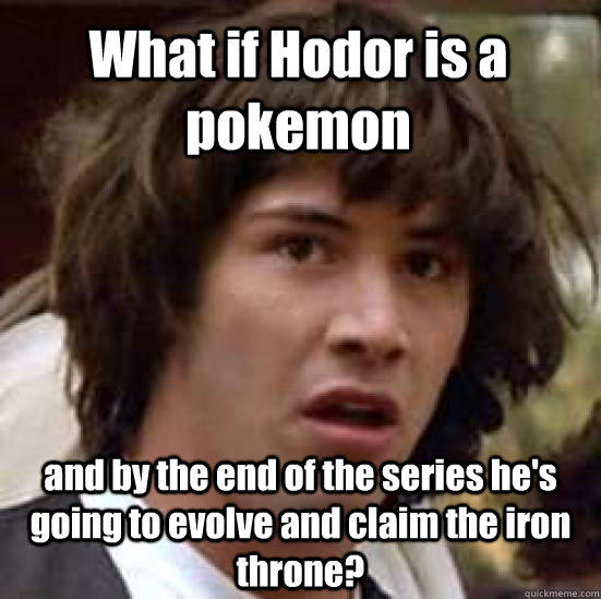 Hodor Pokemon