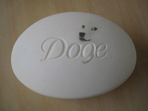 Doge soap