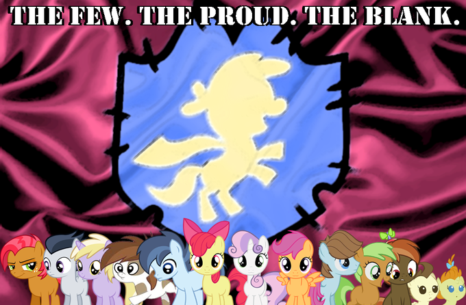 The Few. The Proud. The Blank.