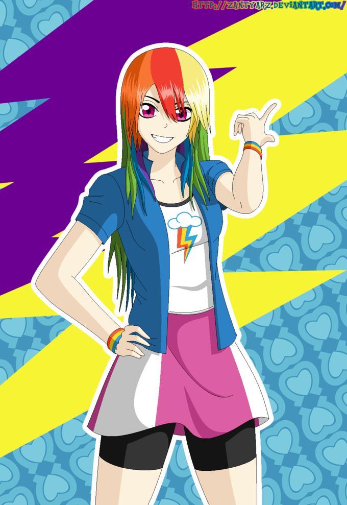 Rainbow Dash Equestria Girls