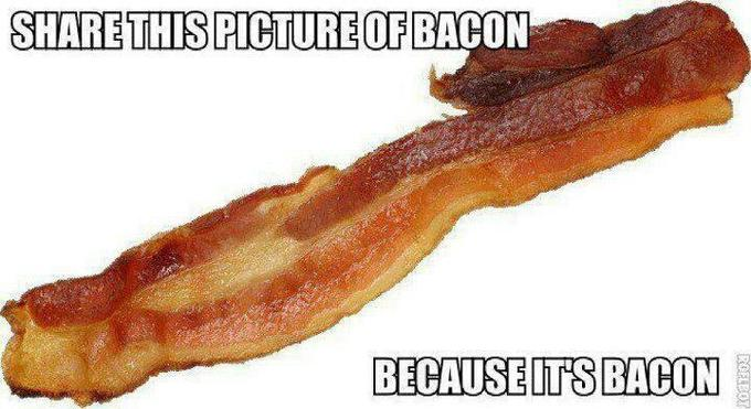 Share this bacon