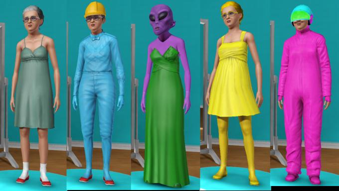 The Grandmas: The Sims 3 Edition