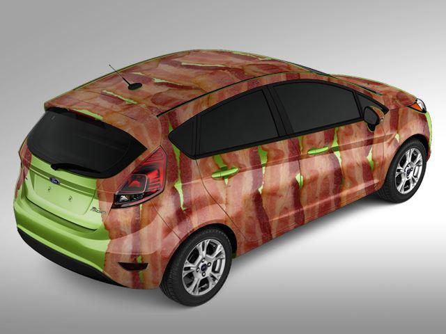 Ford Fiesta. Bacon edition
