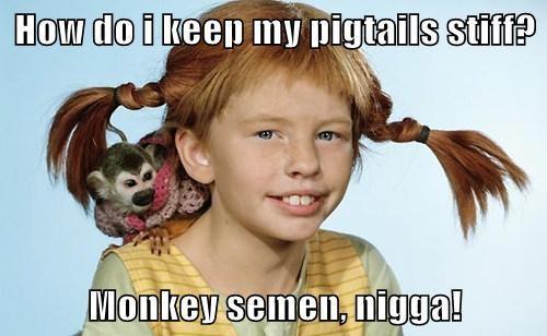 Pipi Monkey Semen