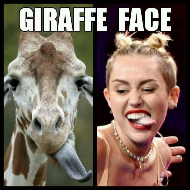 Giraffe Face - The New Duck Face