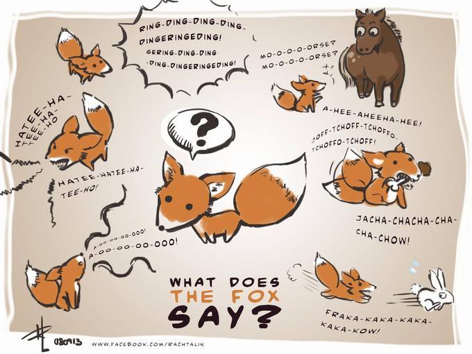 The Fox - Ylvis : Fan Art / Parody