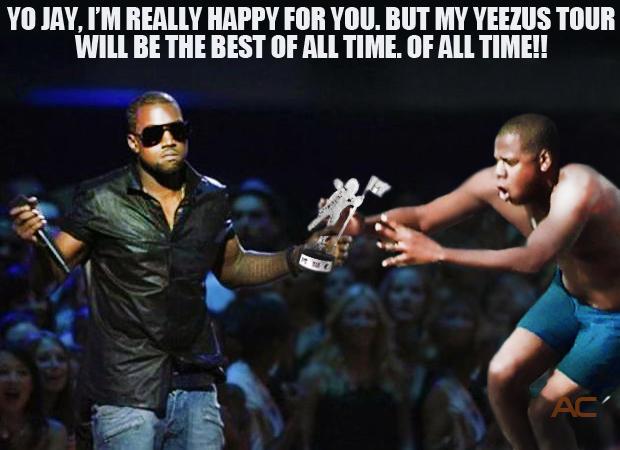 Kanye vs. Jay-Z at the MTV VMAs