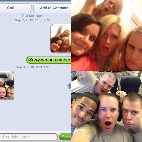 Best Reply to a Wrong Number