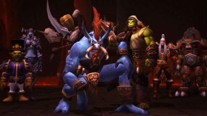 Warchief Vol'jin And The Horde