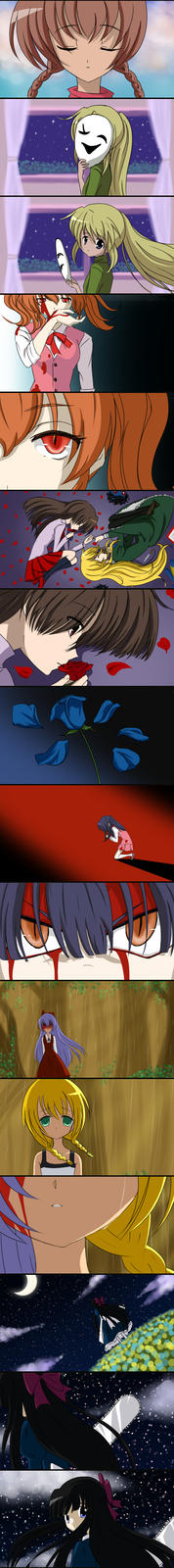 Higurashi no Naku Koro ni MAD Fake Screenshots