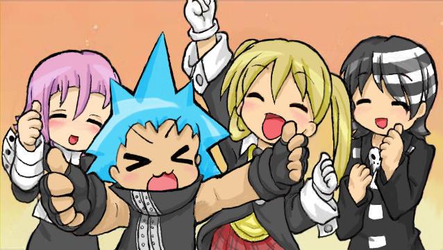 Lucky Star X Soul Eater