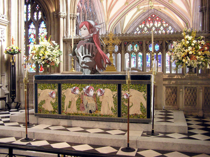 Have you accepted Cherche as your lord and savior?