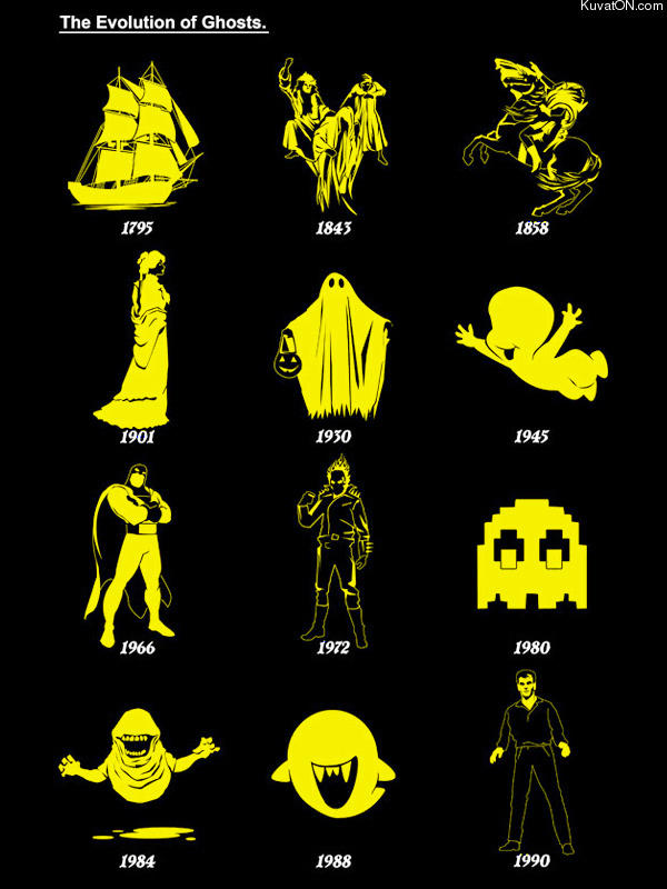 The Evolution of Ghosts