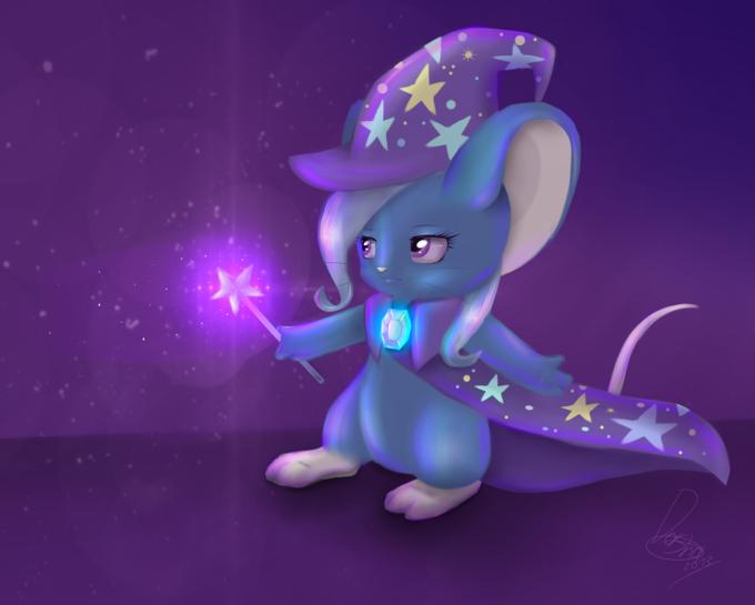 Trixie mouse