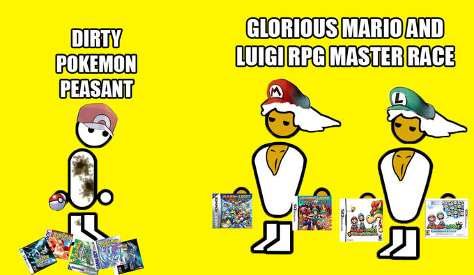 Mario and Luigi RPG Master Race