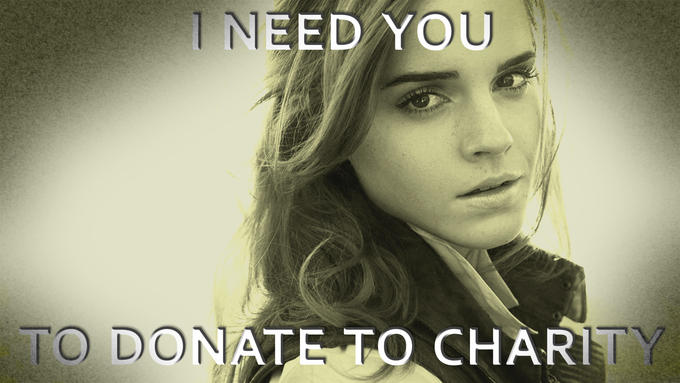 If not for you....Do it for Emma