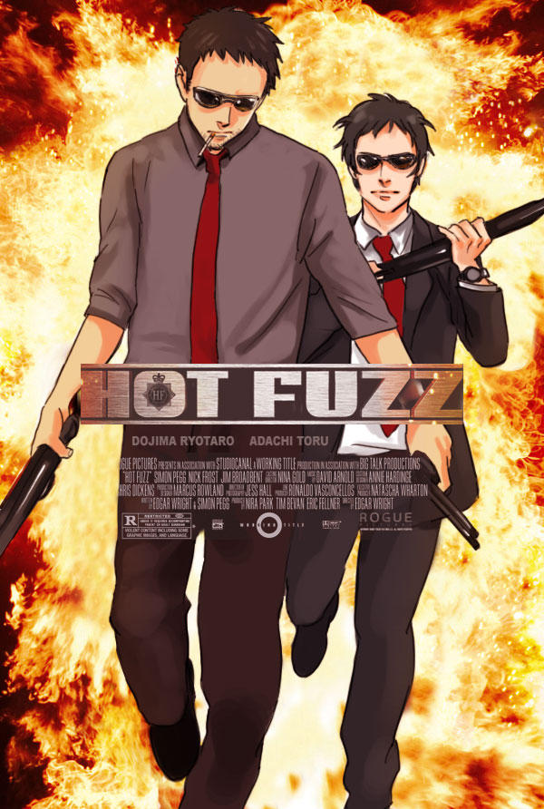 Hot Fuzz Persona remake