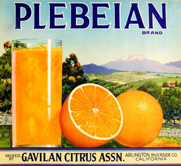 Orange Juice for Plebs