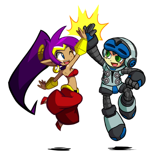 Mighty No.9 and Shantae