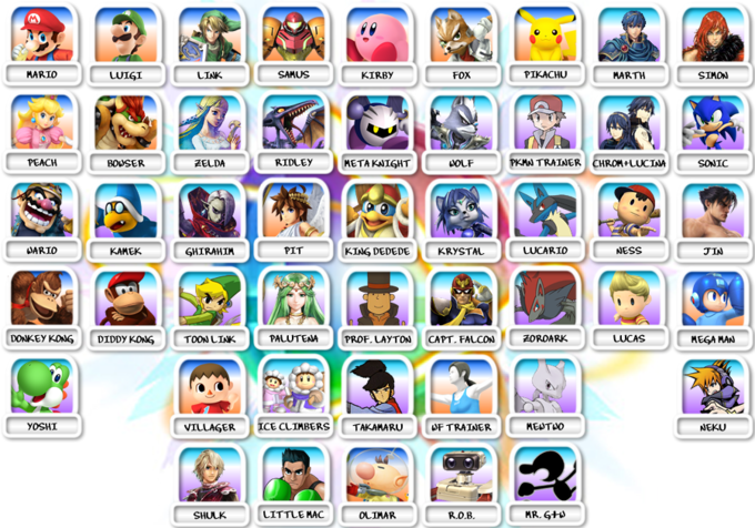 SSB4 Guess Sheet