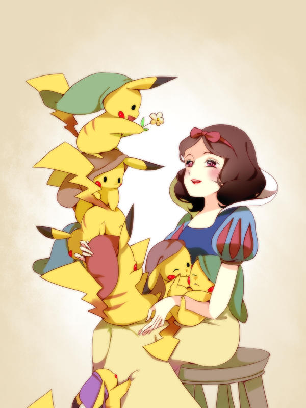 Snow White and the 7 Pikachus
