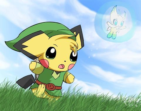 Legend of Zelda: A Pichu To the Past
