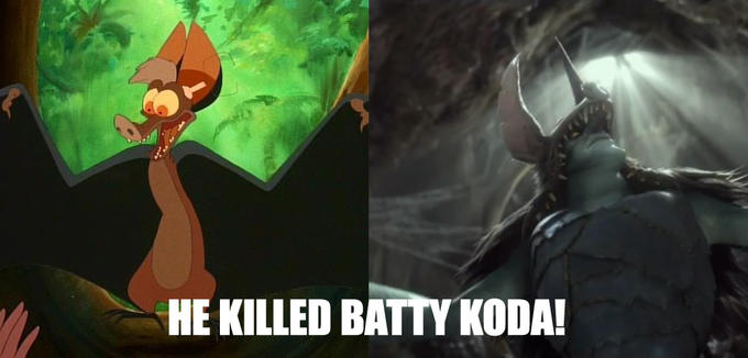 Batty Koda is ded